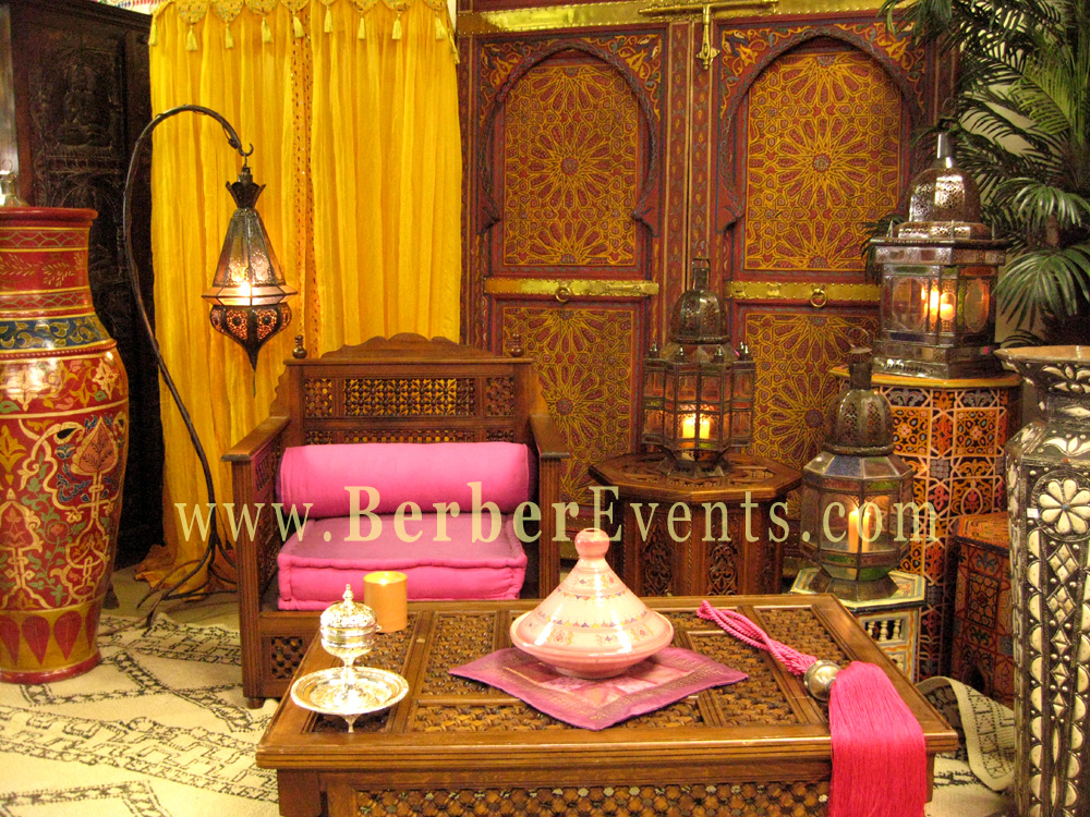 Themed decor garkim for Arabic home decoration