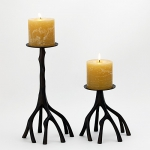 Branch Bronze Candle Holders
