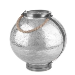 Silver Ball Candle Holder
