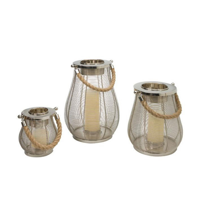 Candle holders garkim for Wire candle lantern