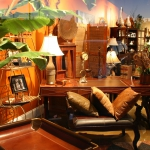 Stetson Leather Desk
