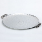 Coils Serving Tray Round