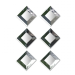 Reflections Square Silver Mirror Set